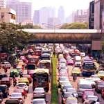traffic bangkok