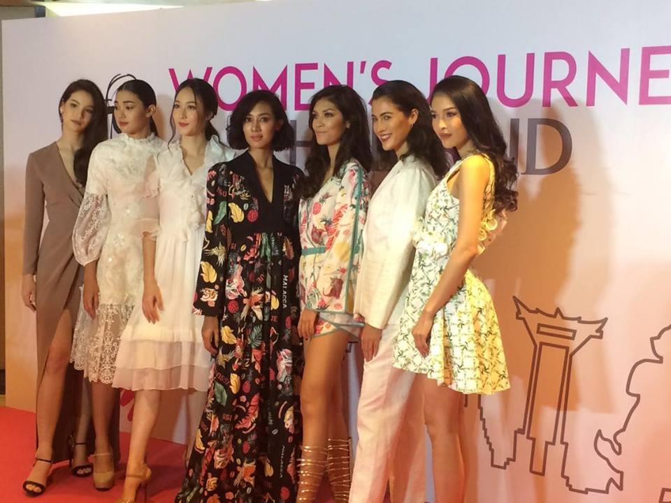 Les 7 candidates de The Face Thailand