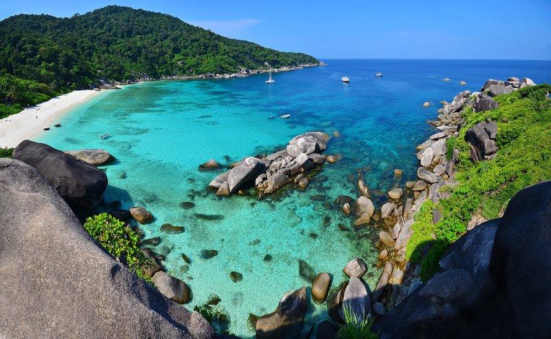 Les plages les plus exclusives de la Thaïlande : Les îles Similan