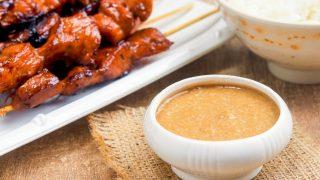 Sauce satay aux cacahuètes, recette facile thaïlandaise