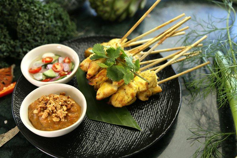 recette poulet satay