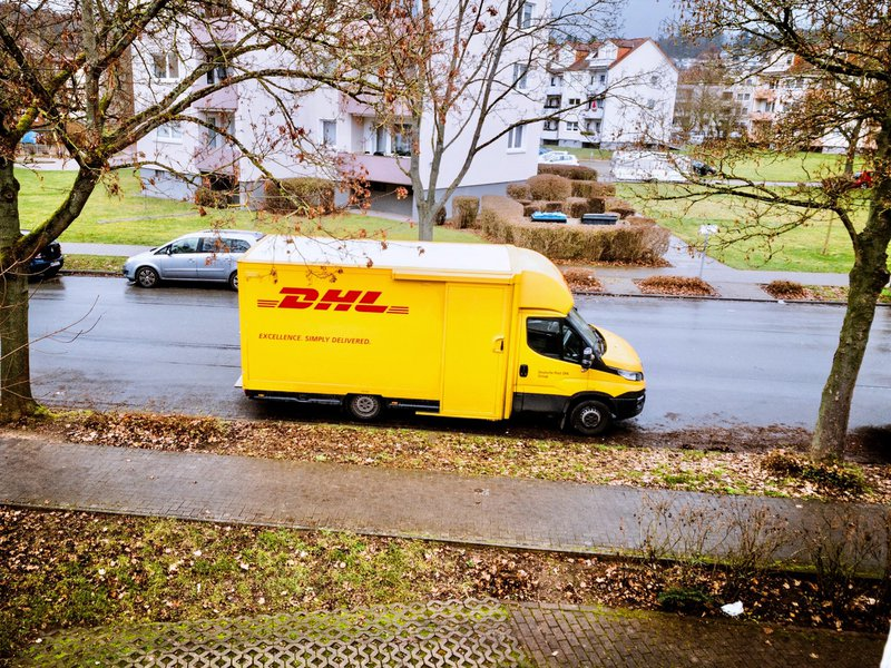 DHL Germany - Delivery Vehicle