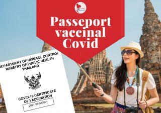 Confirmation officielle du passeport vaccinal en Thaïlande
