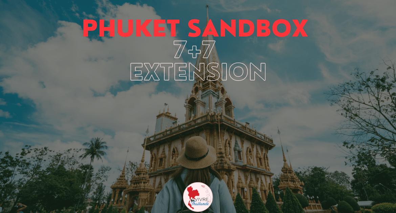 """Le CCSA approuve le """"Phuket Sandbox 7+7 Extension"""""""