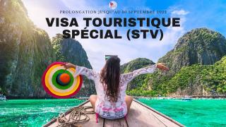 Visa touristique spécial (STV) : prolongation d'une année supplémentaire
